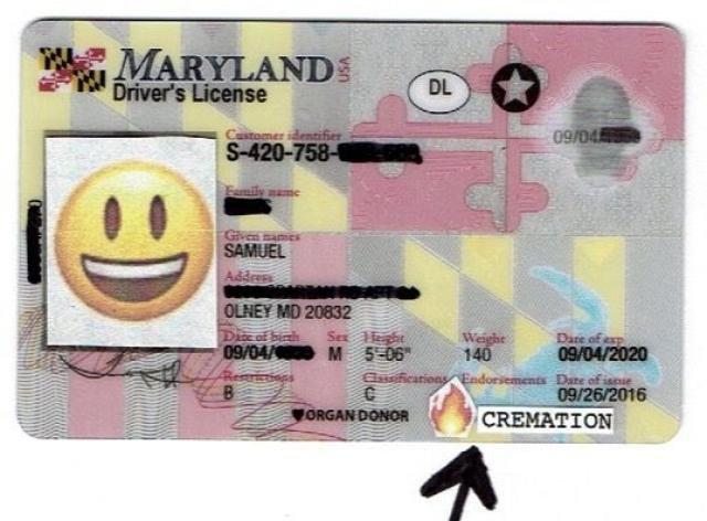 """Delegado Herb McMillan: A proposta de carteira de motorista de Maryland inclui a """"opção de cremação"""" - Gente de Opinião"""