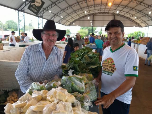 Agricultores e agroindústrias comemoram vendas na 1ª Feira do Produtor de Vilhena - Gente de Opinião