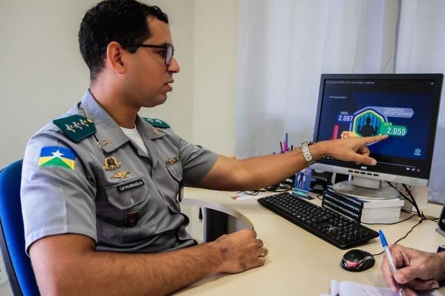 Capitão Alex de Miranda mostra números do comparativo 2018-2019 da atuação da PM - Gente de Opinião