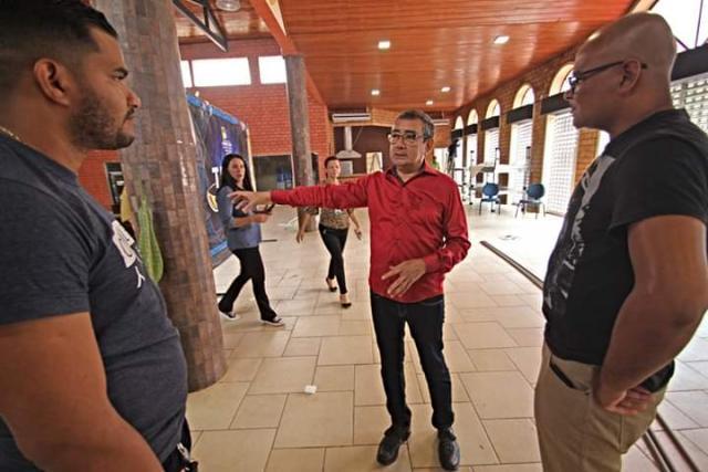 O presidente Ocampo acredita no projeto do Mercado Cultural. - Gente de Opinião