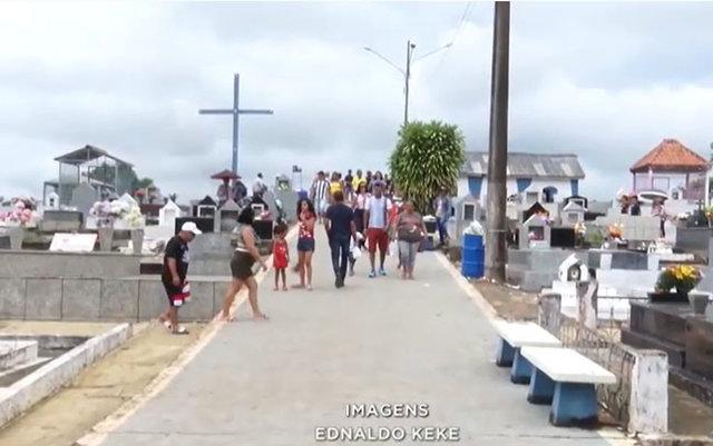 Moradores cobram mais cuidado com a manutenção do cemitério de Santo Antônio - Gente de Opinião