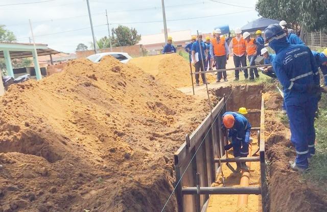 Deputado Laerte Gomes comemora início das obras de esgotamento sanitário de Ji-Paraná - Gente de Opinião