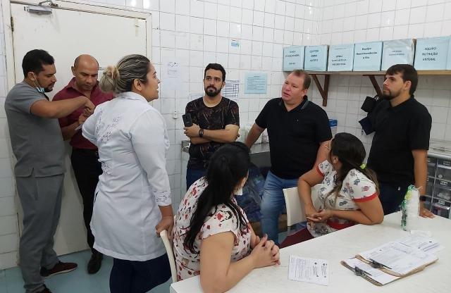 Dr. Neidson fiscaliza Hospital de Base Ary Pinheiro e constata falta de insumos - Gente de Opinião