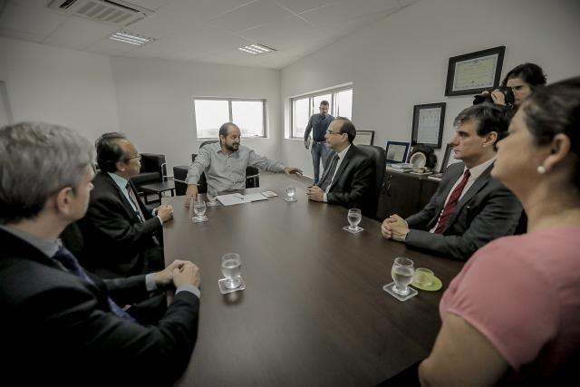 Presidente Laerte Gomes recebe cúpula do Tribunal de Justiça durante visita institucional - Gente de Opinião