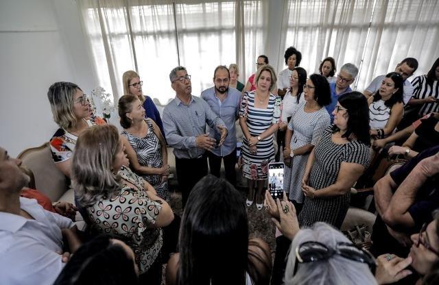 Presidente Laerte Gomes promove encontro de diretores de escolas com secretário da Educação  - Gente de Opinião