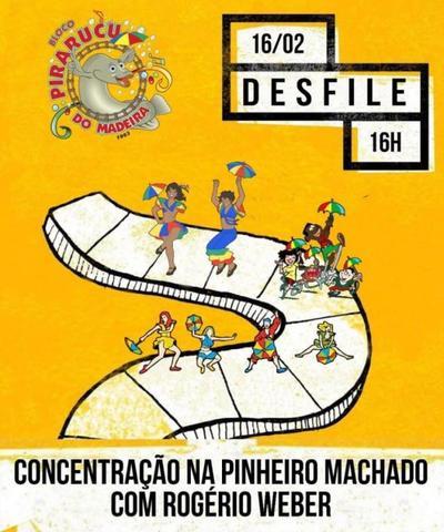 Bloco Pirarucu do Madeira se apresenta nesta terça-feira na feirinha do conjunto Santo Antônio - Gente de Opinião