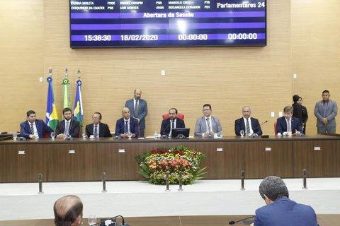 Deputado Laerte Gomes abre ano legislativo mostrando economia de R$ 50 milhões na Assembleia