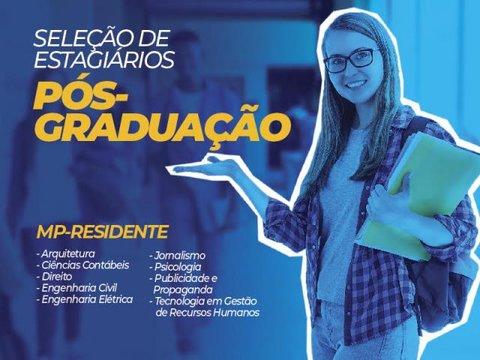 Ministério Público de Rondônia abre processo de seleção para estagiários de nível superior Pós Graduação