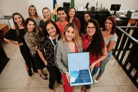 CNJ confere menção honrosa a projeto liderado por juíza de Rondônia durante o X Prêmio Conciliar é Legal