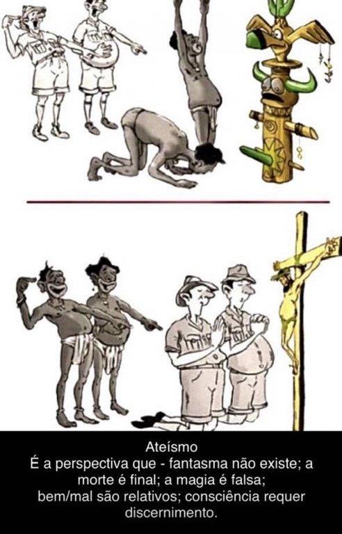 Razões do Ateísmo - Gente de Opinião