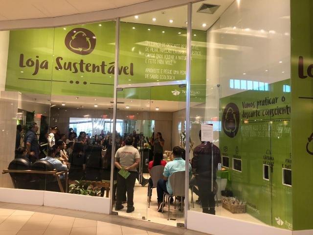 Porto Velho Shopping reforça ações de sustentabilidade e recicla 38% de lixo produzido - Gente de Opinião