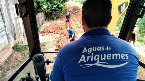 21 mil pessoas são beneficiadas com ligação à rede de água tratada em Ariquemes