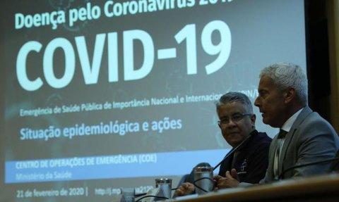 Coronavírus: caso suspeito é monitorado pelo Ministério da Saúde
