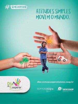 Cooperativas já podem inscrever suas iniciativas no Dia de Cooperar 2020