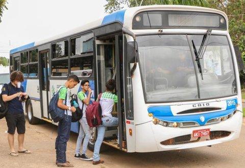 Prefeitura de Ji-Paraná garante 30 mil passes gratuitos para estudantes da rede pública