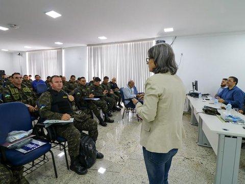Policiais Militares do Batalhão Ambiental participam de oficina sobre Crimes Ambientais de Menor Potencial Ofensivo