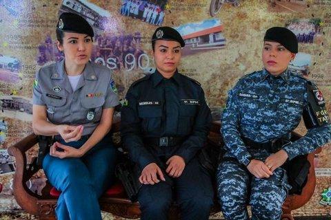 Mulheres representam a força feminina rondoniense dentro da Polícia Militar do Estado de Rondônia