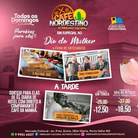 O Dia Internacional da Mulher será de homenagens e sorteios de brindes para elas no Mercado Cultural em Porto Velho - Gente de Opinião