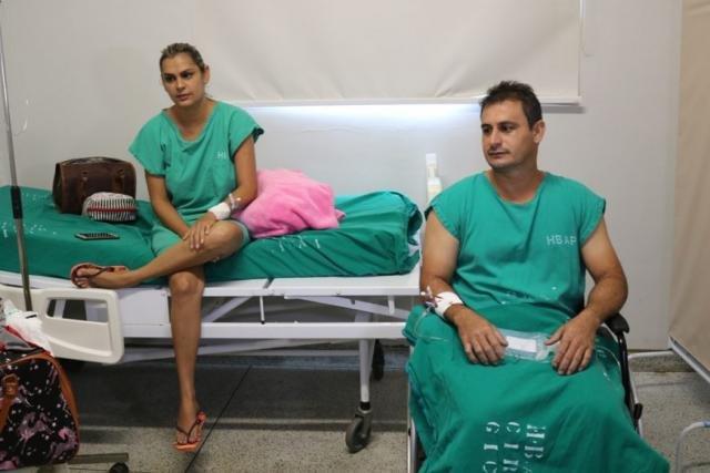 Fernando doou o rim para a irmã Catiane, o transplante foi realizado no Hospital de Base - Gente de Opinião