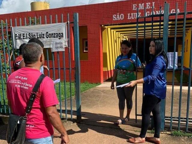 Vereadora Cristiane Lopes fiscaliza Escola São Luiz Gonzaga na zona Leste da Capital - Gente de Opinião