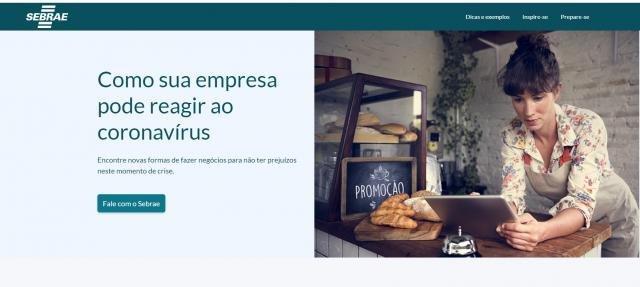 Sebrae lança página na internet com orientações para empresários sobre como reagir à pandemia - Gente de Opinião