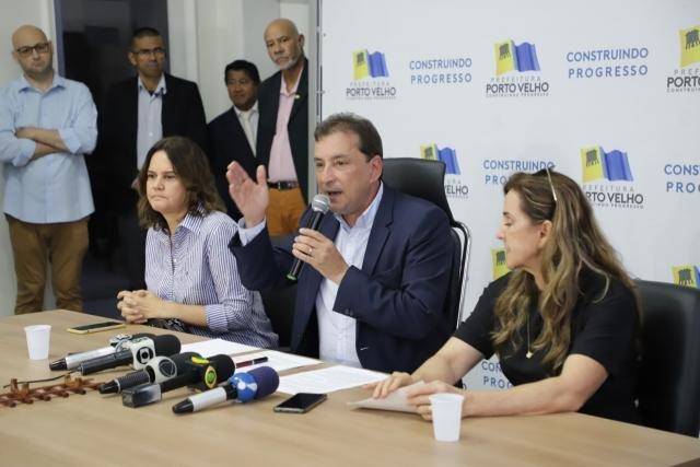 Prefeito Hildon Chaves decreta situação de emergência por 180 dias em Porto Velho - Gente de Opinião