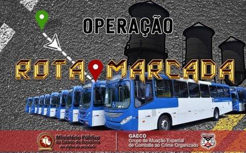Ministério Público de Rondônia, com apoio da Polícia Civil, deflagra operação contra possível esquema criminoso na concessão de transporte público de Porto Velho