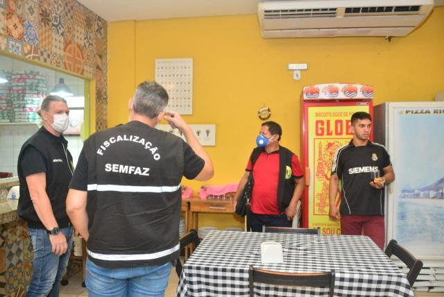 Prefeitura de Porto Velho realiza ação de fiscalização em conjunto com a PM e Bombeiros - Gente de Opinião