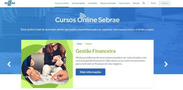 Plataforma do Sebrae disponibiliza cursos gratuitos - Gente de Opinião