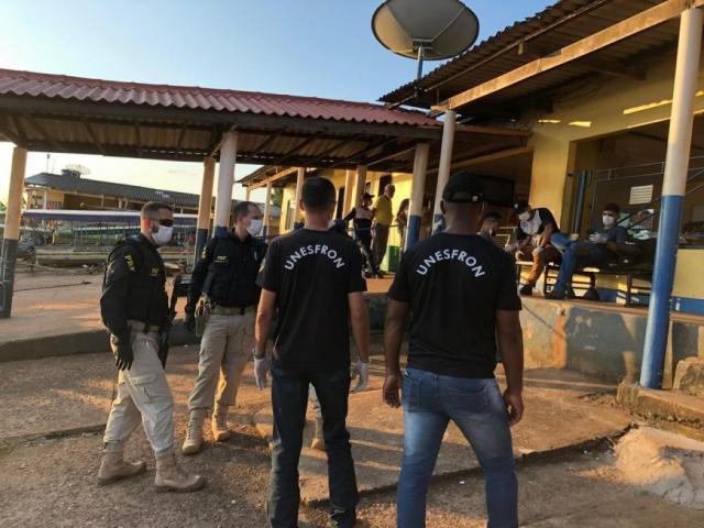 A fiscalização conta com a parceria das esferas municipal, estadual e federal para monitorar a fronteira. - Gente de Opinião