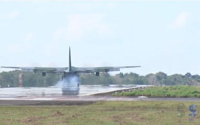 Aviões de resgate a brasileiros no Peru fazem pouso em Porto Velho - Gente de Opinião