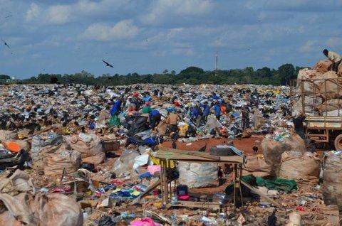 O problema do lixo