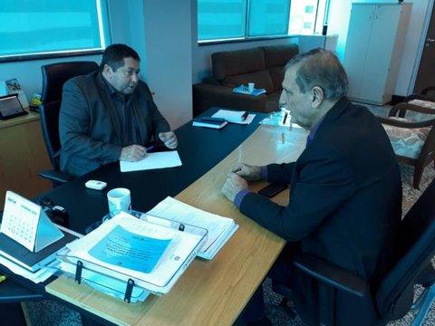 DER informa andamento de processos de pontes e obras ao deputado Adelino Follador