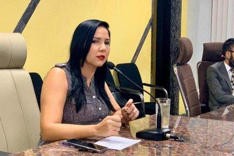 Cristiane Lopes propõe realização de sessões por videoconferência na Câmara Municipal