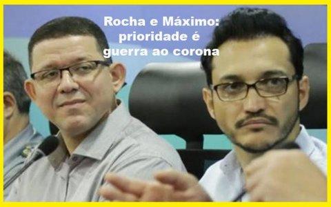 Corona vírus tira um nome forte da briga pela prefeitura da capital + Dar não, mas tirar é a especialidade + Câmaras aumentam salários ilegalmente?