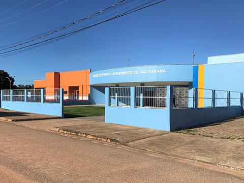 Concluída a reforma e ampliação do Pronto Atendimento de Jaci-Paraná