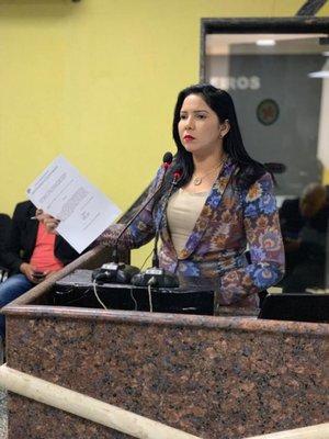 Cristiane Lopes solicita do governo que Patrulha Maria da Penha seja considerado serviço essencial