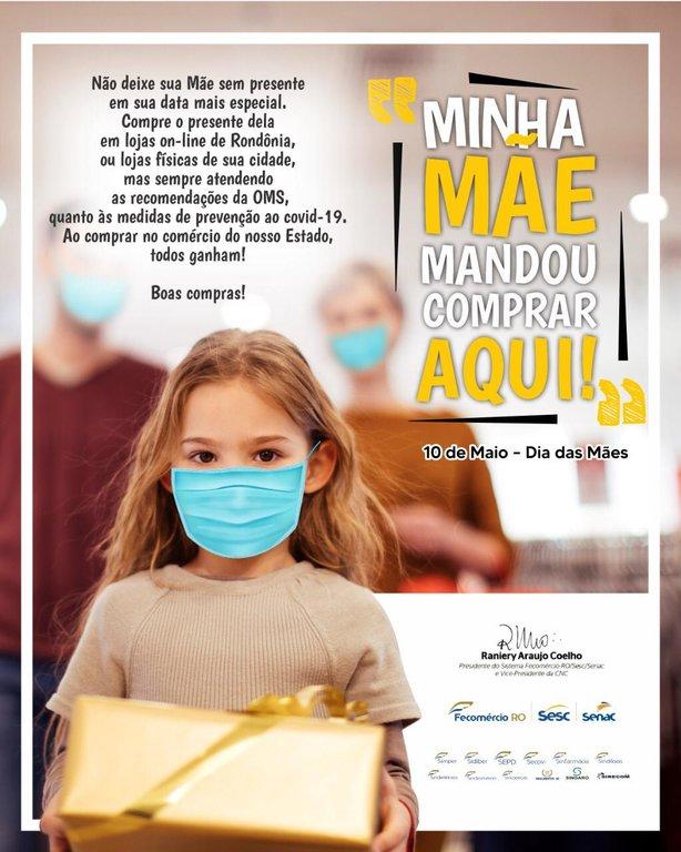 Compre em Rondônia: Fecomércio incentiva compra de presente do dia das mães com segurança - Gente de Opinião