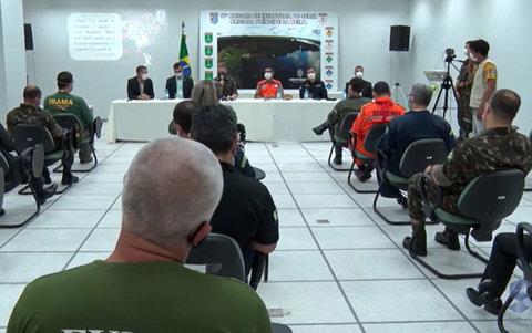 Governo Federal autoriza o emprego das forças armadas em combate à incêndios florestais