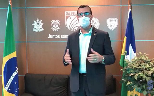Secretário de segurança manda investigar quem estava no futfest em Porto Velho - Gente de Opinião