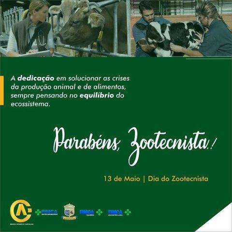 13 de Maio dia do Zootecnista, Parabéns a todos os profissionais - Gente de Opinião
