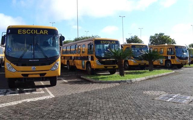 Porto Velho recebe os ônibus para transportar estudantes da zona rural - Gente de Opinião