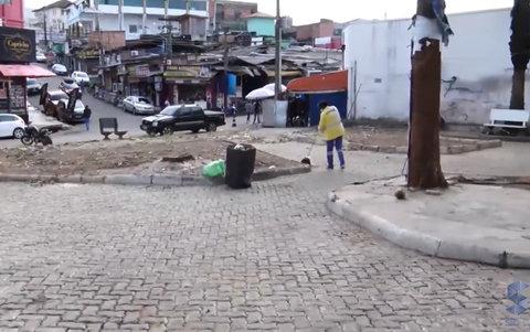 SIC TV apura que ambulantes da praça Jônathas Pedrosa não retornaram ao local