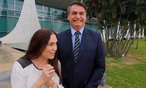 Lenha na Fogueira e Regina Duarte