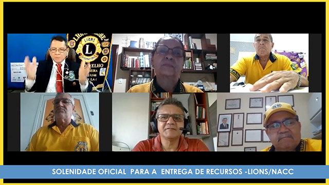 NACC recebe doação de mais R$ 464mil do Lions Clube para a equipar a nova sede em Porto Velho - Gente de Opinião