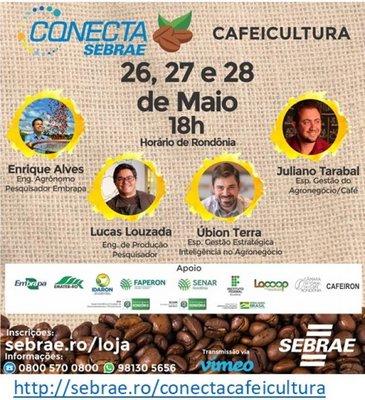 Conecta Sebrae Cafeicultura, evento para dar suporte aos produtores