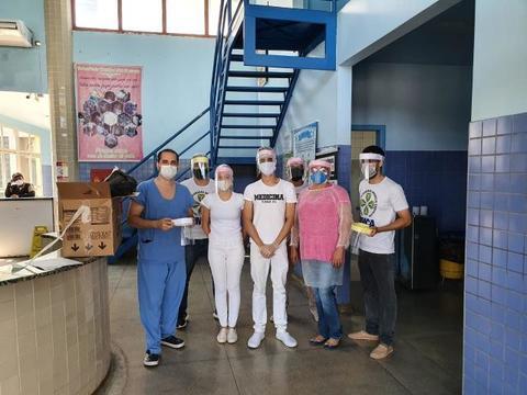 Acadêmicos de Medicina da FIMCA fabricam e distribuem Protetores Faciais
