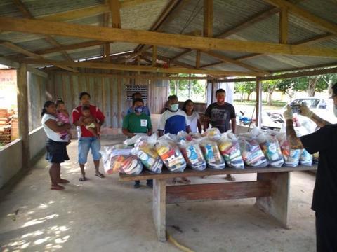 Comunidades indígenas são beneficiadas pela Campanha SOS.RO