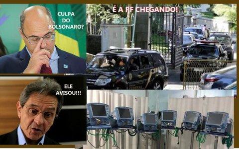 Covidão da PF contra corruptos + Hildon chaves vai à reeleição + Clínica que atende covid 19 assaltada