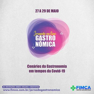 Curso de Gastronomia da FIMCA promove Jornada Gastronômica online